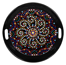 Eagan Mosaic Mandala Tray