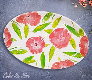 Eagan Floral Paper Stamping