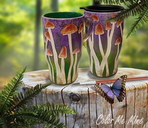 Eagan Mushroom Mugs