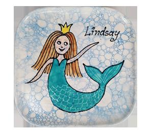Eagan Mermaid Plate