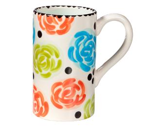 Eagan Simple Floral Mug