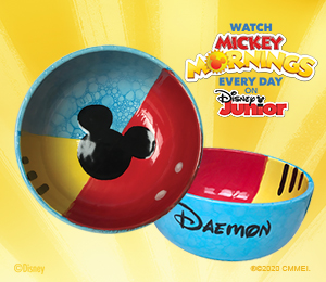 Eagan Mickey's Bubble Bowl
