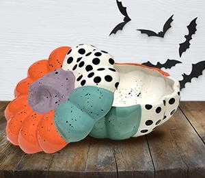 Eagan Color Block Pumpkin