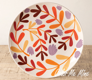 Eagan Fall Floral Charger