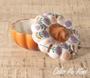 Eagan Floral Pumpkin Box