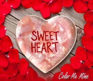 Eagan Candy Heart Plate
