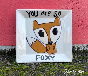 Eagan Fox Plate