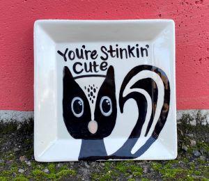 Eagan Skunk Plate