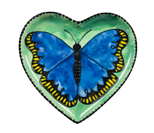 Eagan Butterfly Plate