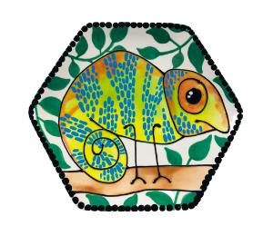 Eagan Chameleon Plate