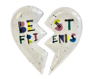 Eagan Best Friends Plate Set