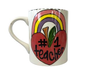 Eagan Rainbow Apple Mug