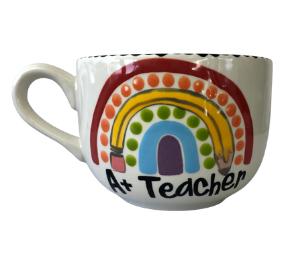 Eagan Polka Dot Rainbow Mug